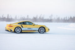 PORSCHE 911 TURBO Stock Photography