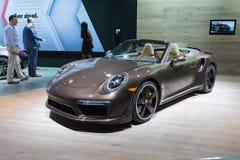 Porsche 911 Turbo na pokazie Fotografia Royalty Free