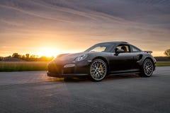 Porsche 2015 911 Turbo S lizenzfreies stockbild