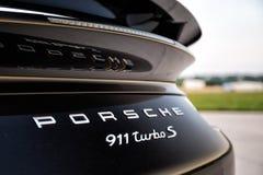 2015 Porsche 911 Turbo S Fotografia Stock
