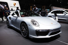 Porsche 911 Turbo S Fotografia Royalty Free