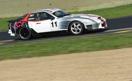 Porsche 944 Turbo-s auf Rennbahn Lizenzfreies Stockbild