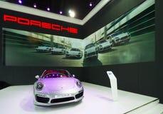 Porsche 911 Turbo S on display Stock Image