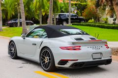 2018 Porsche 911 Turbo S Royalty Free Stock Images