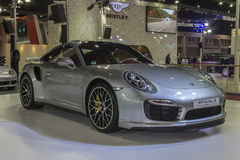 Porsche 911 turbo S Royalty Free Stock Photo