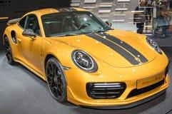 Porsche 911 Turbo S wyłączność na wywiad seria Fotografia Royalty Free