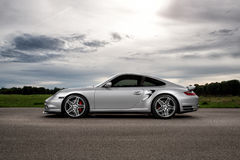 Porsche 997 Turbo Royalty Free Stock Photos