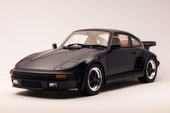 Porsche 911 Turbo. Porsche 911 (930) Turbo Slant nose, limited edition diecast model, scale 1:18, manufactured by GT Spirit Stock Photos