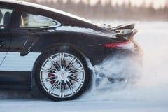 PORSCHE 911 TURBOLADDARE Royaltyfria Bilder