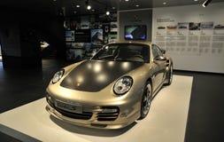 Porsche turboladdare s Royaltyfri Bild