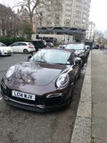 Porsche 911 turboladdare S Arkivfoto