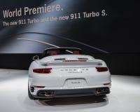 2016 Porsche 911 Turbos Royalty-vrije Stock Afbeelding