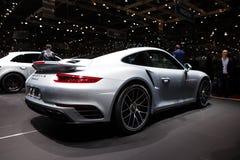 Porsche 911 Turbos Stock Foto