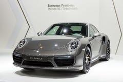 Porsche 911 Turbos-sportwagen Royalty-vrije Stock Afbeelding