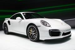 Porsche 911 Turbos-sportwagen Stock Foto's