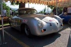 Porsche 356 um Ferdinand em Bergamo Prix grande histórico 2017 Fotografia de Stock Royalty Free