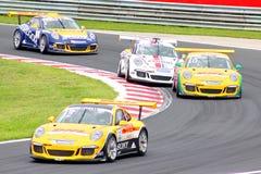 Porsche 911 världscup GT3 Arkivfoto
