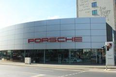 Porsche-Verkaufsstelle Stockfotos