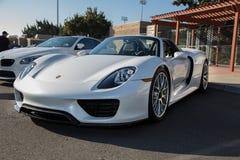 Porsche 918 White Royalty Free Stock Image