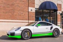Porsche 911, Woodward Dream Cruise,MI Royalty Free Stock Photo