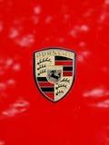 Porsche-Zeichen Stockfotografie