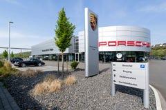 Porsche Zentrum Siegen, Allemagne Photos libres de droits
