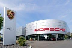 Porsche Zentrum Siegen, Allemagne Images stock