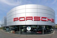 Porsche Zentrum Siegen, Allemagne Photo libre de droits