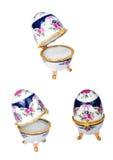 Porselainpaasei royalty-vrije stock afbeeldingen