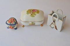 Porselein en ceramisch Royalty-vrije Stock Foto