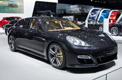 Porshe Panamera Turbo Royalty Free Stock Images