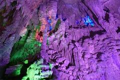 Porslin för silvergrottaguangxi landskap Royaltyfri Foto