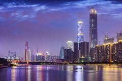 porslin guangzhou Arkivbild