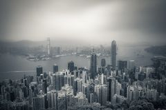 porslin Hong Kong Arkivfoton