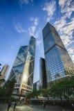porslin Hong Kong för gruppbyggnad arkivfoto