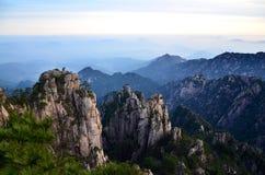 porslin huangshan Arkivfoton