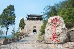 porslin kines, asia, asiat som är lantlig, bygd, Shanxi, Pingding, Ya arkivbild
