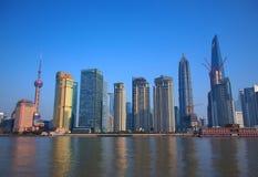 porslin shanghai royaltyfri bild