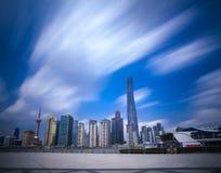 porslin shanghai Royaltyfria Bilder