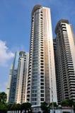 porslin shanghai för byggnadsaffärsmitt Royaltyfri Foto