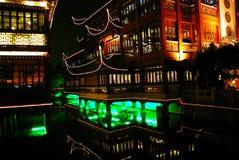 porslinet arbeta i trädgården den shanghai yuen Royaltyfri Fotografi