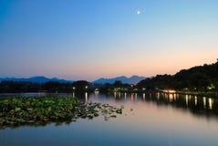 porslinhangzhou westlake Fotografering för Bildbyråer
