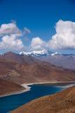 porslinlake tibet royaltyfria bilder