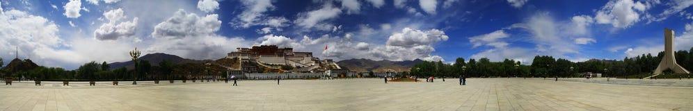 porslinliggandenatur tibet Royaltyfri Foto