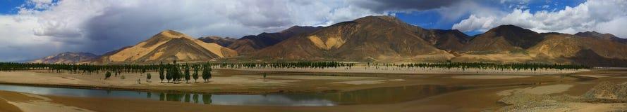 porslinliggandenatur tibet Fotografering för Bildbyråer