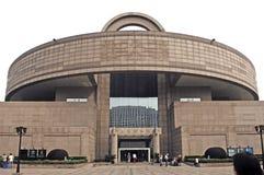 porslinmuseum shanghai royaltyfri fotografi