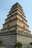 porslinpagoda xian Arkivfoto