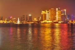 porslinshanghai horisont Royaltyfri Bild