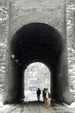 porslinstadsvägg xian Royaltyfri Foto