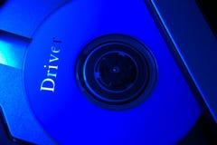 portátil cd da ROM fotografia de stock royalty free